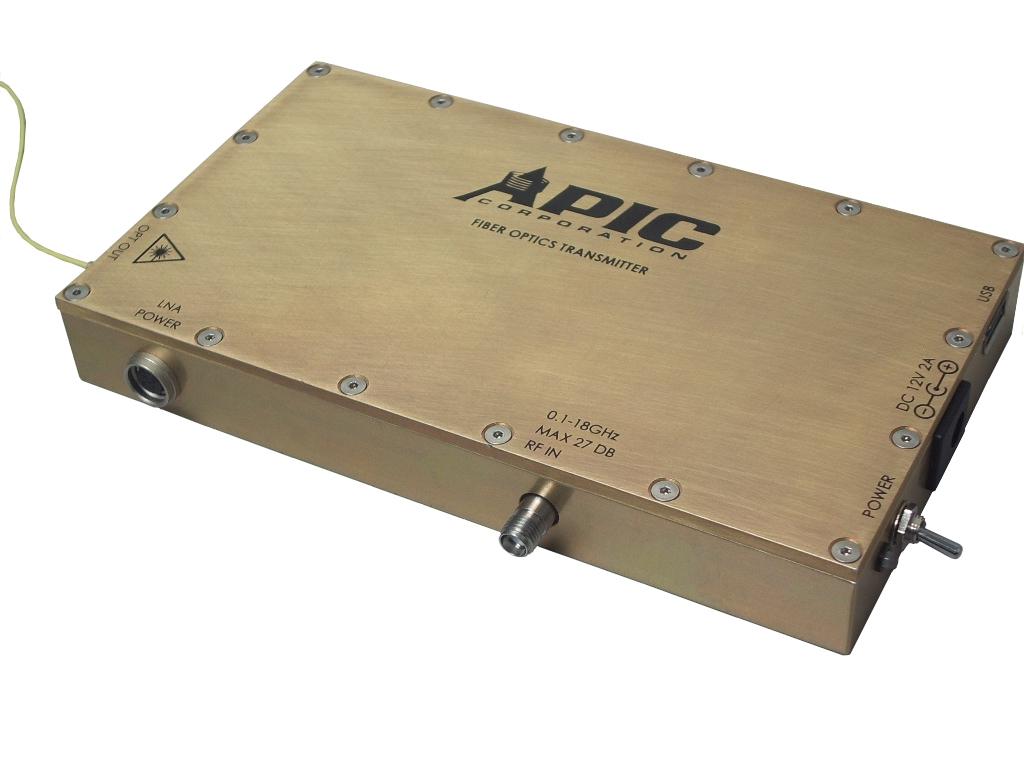 Integrated Transmitters Apic Corporation Fiber Optics Circuits Images Buy Optical Components Broadband Atx Without Lna